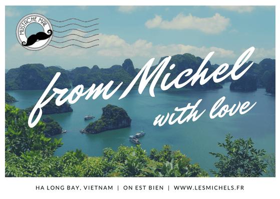 Carte Postale LesMichels Halong Bay Vietnam-min