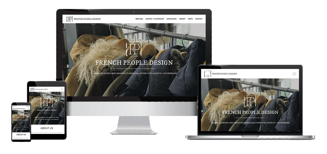Fashion Design Company Website Responsive